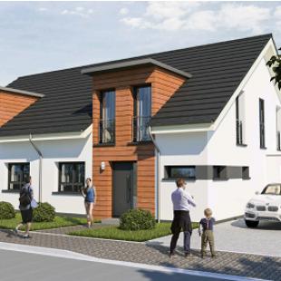 Neubau-Doppelhaus in Mechernich