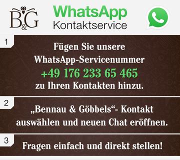 WhatsApp Kontaktservice
